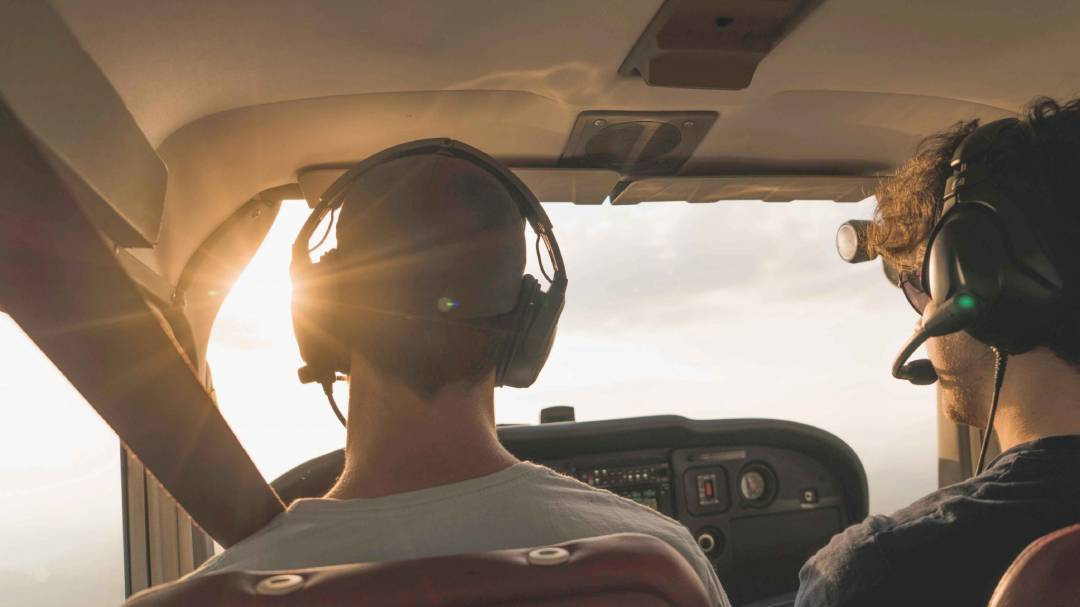 build time as a flight instructor