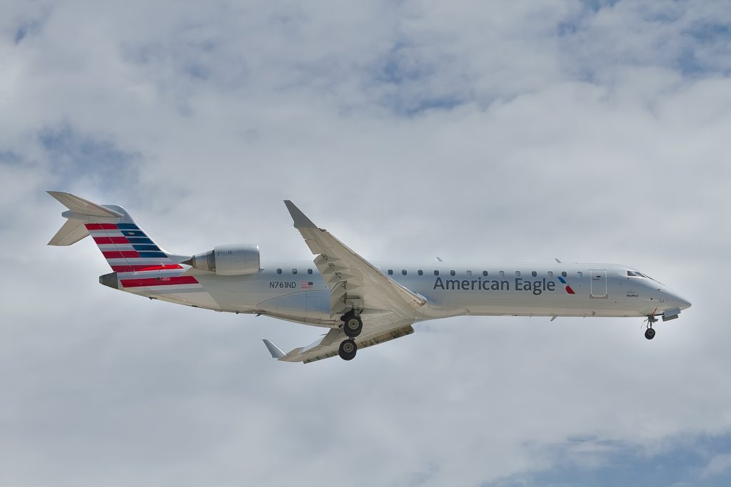 American Eagle Aircraft operated by Envoy